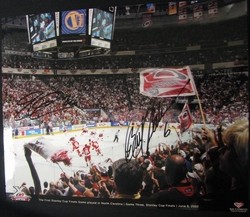 Erik Cole and Bret Hedican Signed Photo