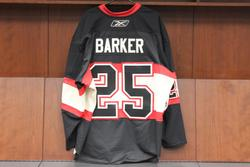 Cam Barker Game-Worn Winter Classic Jersey Auction