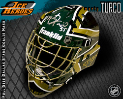 Marty Turco Signed Helmet Auction