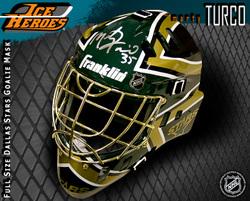 Marty Turco Signed Helmet Auction