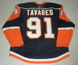Tavares Jersey Photo Shoot Auction