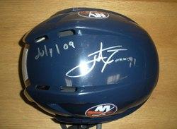 Tavares Helmet Photo Shoot Auction