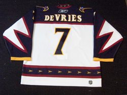 Greg De Vries Game-Worn Jersey Auction