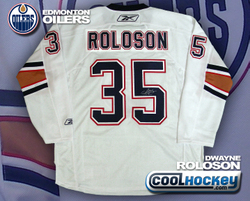 Dwayne Roloson Signed Jersey Auction