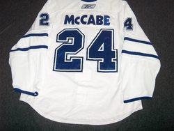 Bryan McCabe Game-Worn Jersey Auction