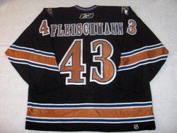 Tomas Fleischmann Game-Worn Capitals Jersey Auction