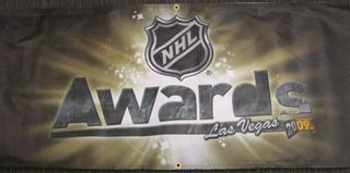NHL Awards Banner Auction