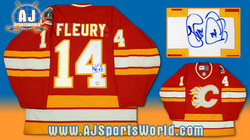 Fleury Signed Jersey Auction