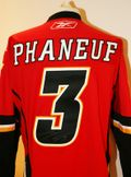 Phaneuf Signed Jersey Auction