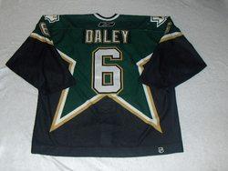 Trevor Daley Game-Worn Stars Jersey Auction