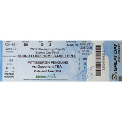 Signed Jumbo Ticket Auction