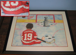 Yzerman Signed Photo Auction
