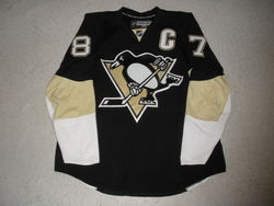 Crosby Worn & Signed Jersey Auction