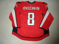 Ovechkin Worn & Signed Jersey Auction