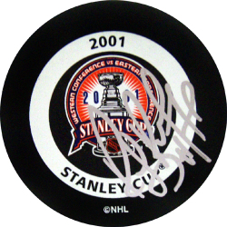 Bourque Signed Puck Auction