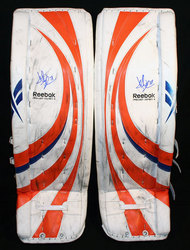 Deslauriers Game-Worn Pads