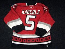 Kaberle Game-Worn Jersey Auction
