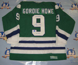 new styles 80a35 523c0 NHL Auctions Blog: Gordie Howe Signed Hartford Whalers Jersey!!
