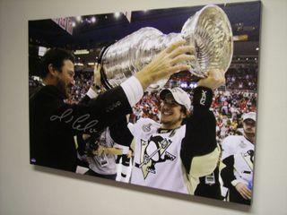 Lemieux Stanley Cup Canvas Auction