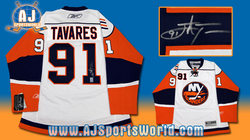 Tavares Signed Jersey Auction