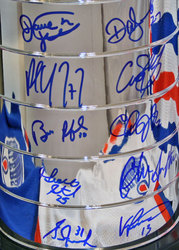 Oilers Signed Cup Auction