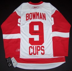 Bowman Signed Jersey Auction