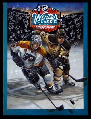 95655c154 NHL Auctions Blog  Original 2010 Bridgestone NHL Winter Classic ...