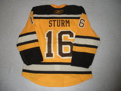 Sturm Game-Worn Jersey Auction