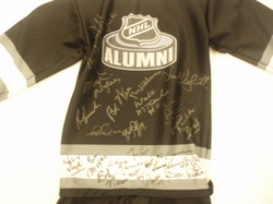 NHL Alumni Signed Jersey Auction