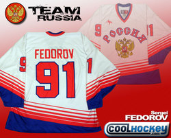 Fedorov Team Russia Jersey Auction