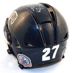 Dustin Penner Game Worn Helmet