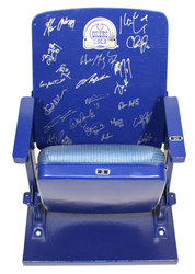 Legends Signed Seat