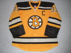Chara Game-Worn Jersey Auction