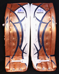 Drouin Deslauriers Game-Worn Pads Auction