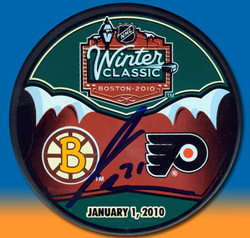 Van Riemsdyk Signed Puck Auction