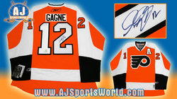 Gagne Signed Jersey Auction