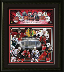 Blackhawks Collage Auction