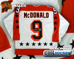 McDonald Signed Jersey Auction