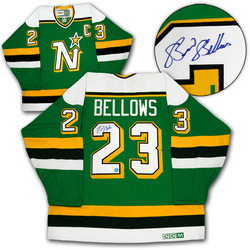 Brian Bellows Signed Jersey Auction