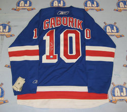 Marian Gaborik Signed Jersey Auction