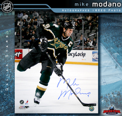 Modano Signed Photo Auction