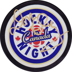 Don Cherry Signed Puck Auction