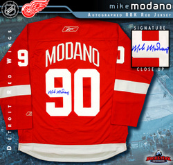 Mike Modano Signed Jersey Auction