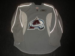 Forsberg Practice Worn Jersey Auction