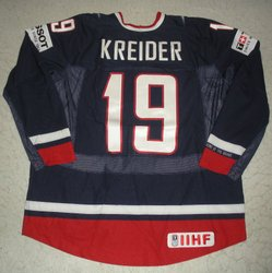 Kreider Game-Worn Jersey Auction