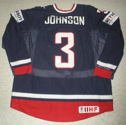 Johnson Game-Worn Jersey Auction