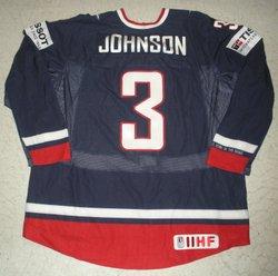 d5c9b785d6a ... Johnson Game-Worn Jersey Auction