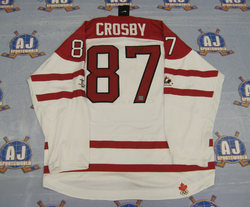 Crosby Signed Jersey Auction