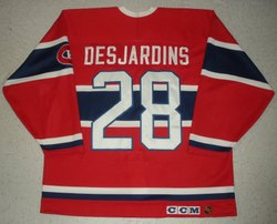 Desjardins Game-Worn Jersey Auction
