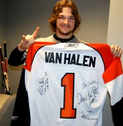 Van Halen Signed Flyers Jersey Auction